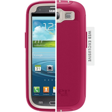 Samsung Galaxy S3 Case - Defender Series | OtterBox.comSeries Cases, Samsung Galaxy S3, Blushes E.L.F., Peonies Pink, Samsung Galaxies S3, Cell Phones, Otterbox Defender, Defender Series, Belts