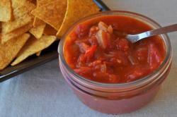 recette de cuisine sauce salsa mexicaine