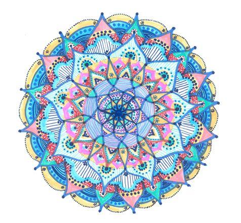 Mandala Fluir da Vida – Cor e Poesia