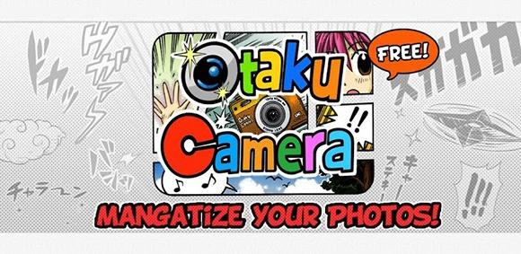 Το manga στυλ έχει πολλούς οπαδούς σε όλο το κόσμο. Ξεκίνησε από την Ιαπωνία και η ακριβής μετάφραση του σημαίνει παράξενες εικόνες. Έτσι λοιπόν από το Τόκιο μας έρχεται το Otaku Camera το οποίο μπορεί να μετατρέπει σε manga οποιαδήποτε φωτογραφία. Γενικά η εφαρμογή είναι μια φωτογραφική μηχανή και περιέχει θέματα με τα οποία μετατρέπει την φωτογραφία που τραβήξατε σε manga.