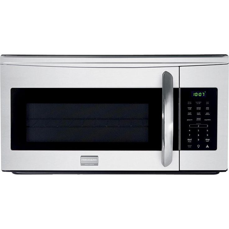 Frigidaire Gallery - FGMV175QF - 1.7 cu. ft. Microhood Combination Microwave Oven - Stainless Steel | Sears Outlet