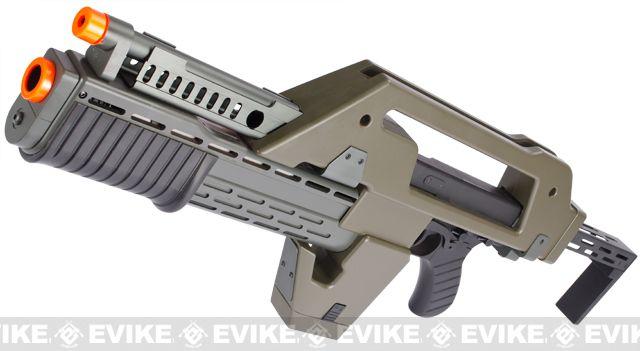 Matrix Limited Edition Custom Alien Pulse Rifle Airsoft AEG  : Pulse Rifles, Pul Rifles, Popular Airsoft, Airsoft Guns, Matrix Pulse, Rifles Airsoft, Airsoft Aeg, Aliens Pulse, Airsoft Pulse