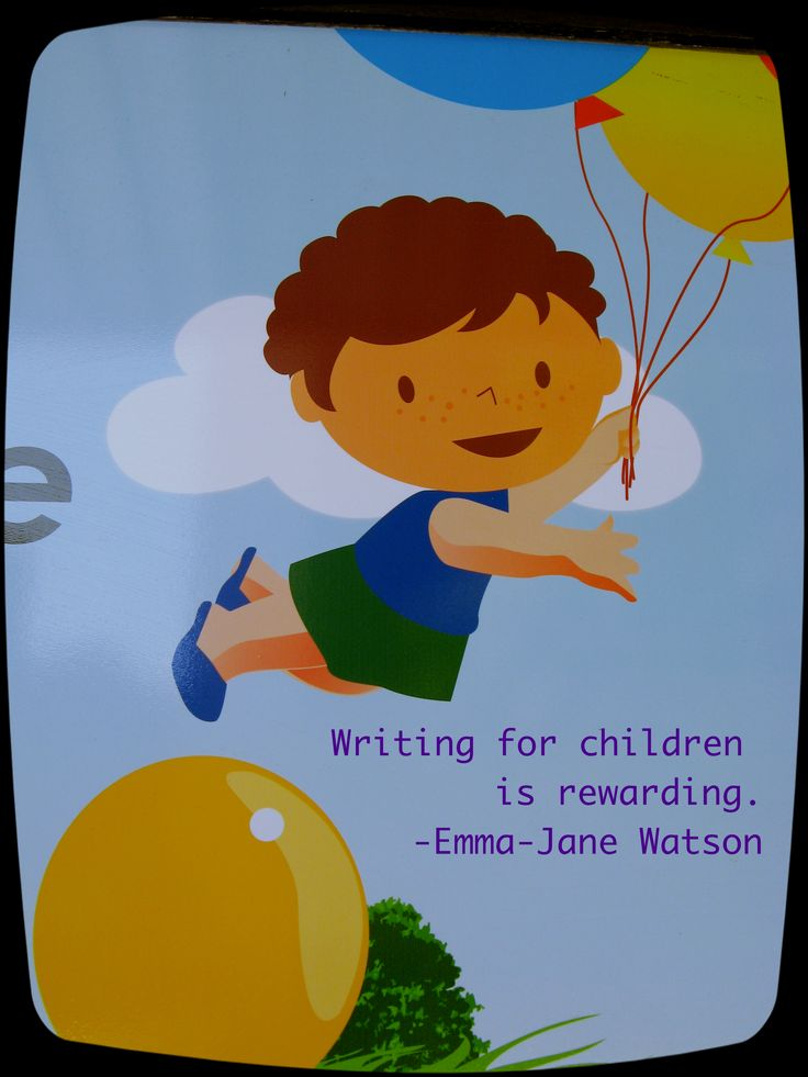 Writing for children is a difficult task as the words need to be light and simple. Plus keeping a child occupied.