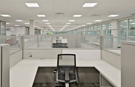 SAA C-Tick CE rose LED panel is used in office-Sydney Australia http://www.naturegreenusa.com/proj…/office-lighting/104.html Location:USA Date: 2014 #led #ledpanel #rz