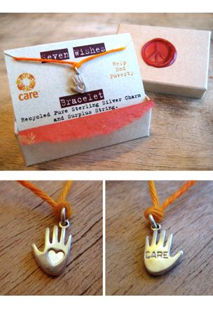 Love this piece! CARE supports empowering women and girls around the world.