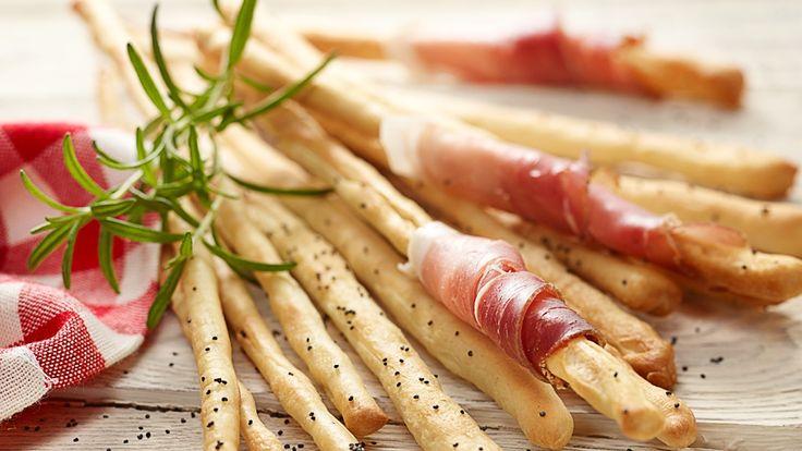 Grissini czosnkowe z szynką szwarcwaldzką - Kuchnia Lidla