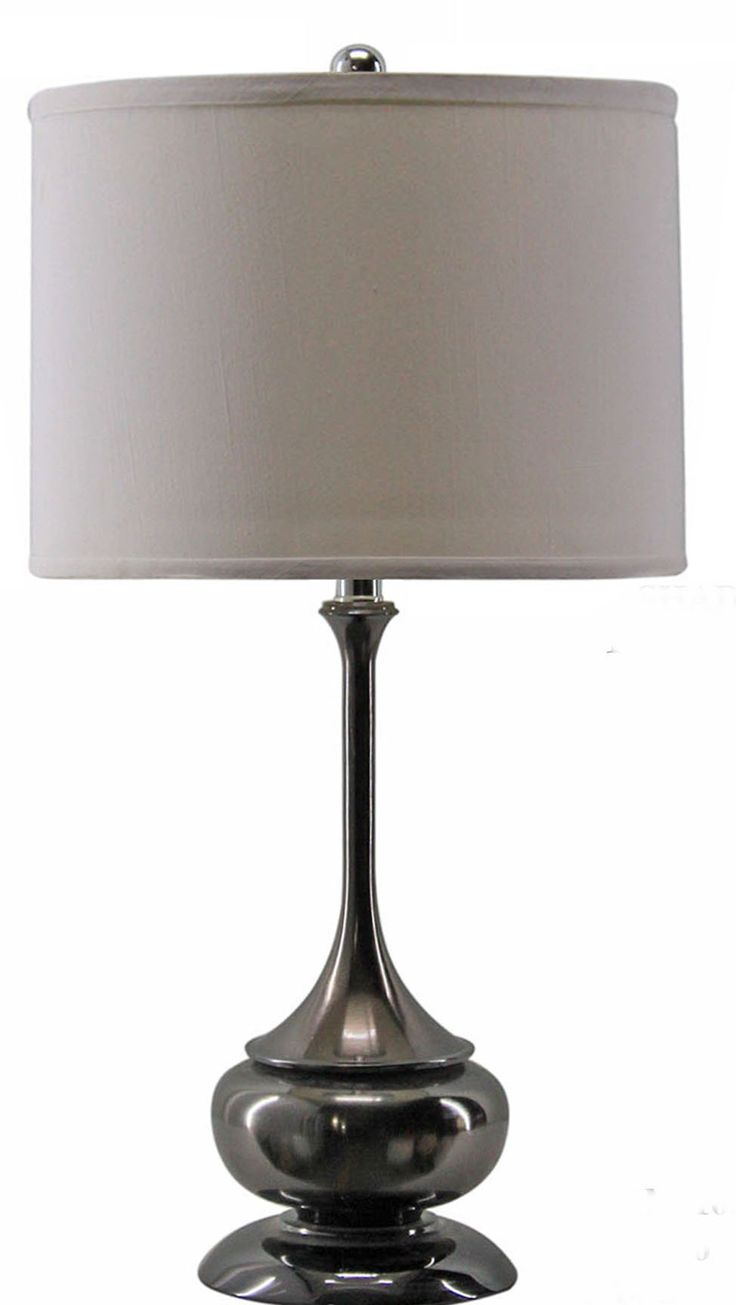 Modern table lamps for living room - Metal Lamp With Table I Really Like This One Contemporary