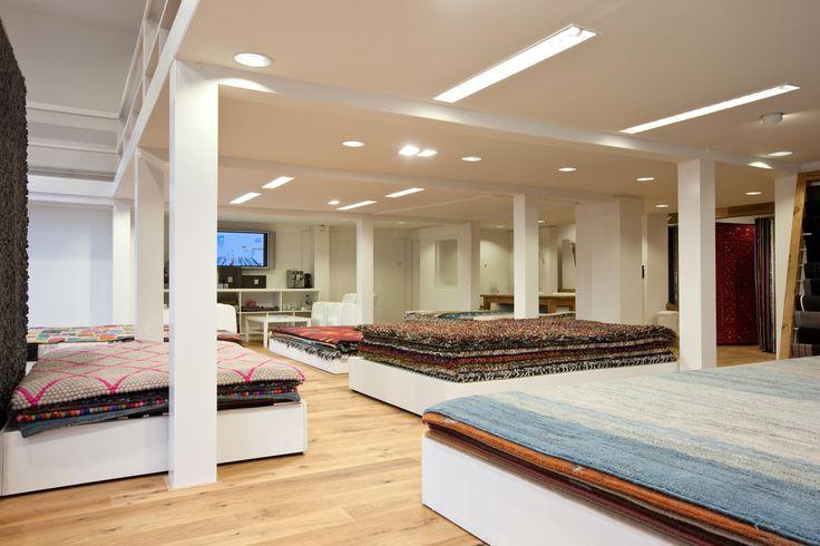 De vloerkledenwinkel in Hilversum, prachtige vloerkleden in vele maten en kleuren.