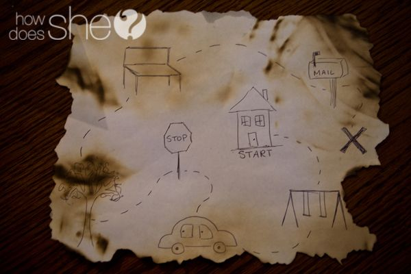 Fun date night with kids! Send them on a treasure hunt while you video cute things they do!