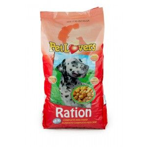 PETLOVERS RATION 15KG sac