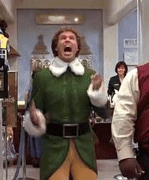 When Thanksgiving is over and it's finally Christmas season.