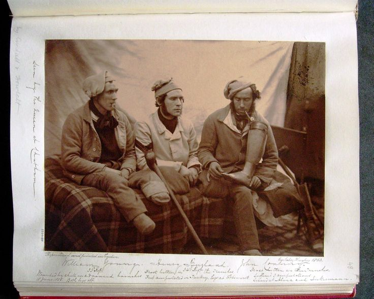 The Royal Collection: William Young, 23rd Regiment, Corporal Henry Burland, 34th Regiment and John Connery, all with