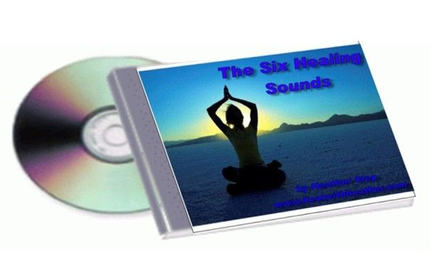 Six healing Sounds! Sounds, colour, major body parts and yoga positions. Clear yourself in six minutes and then finish it off with an EFT body balance.