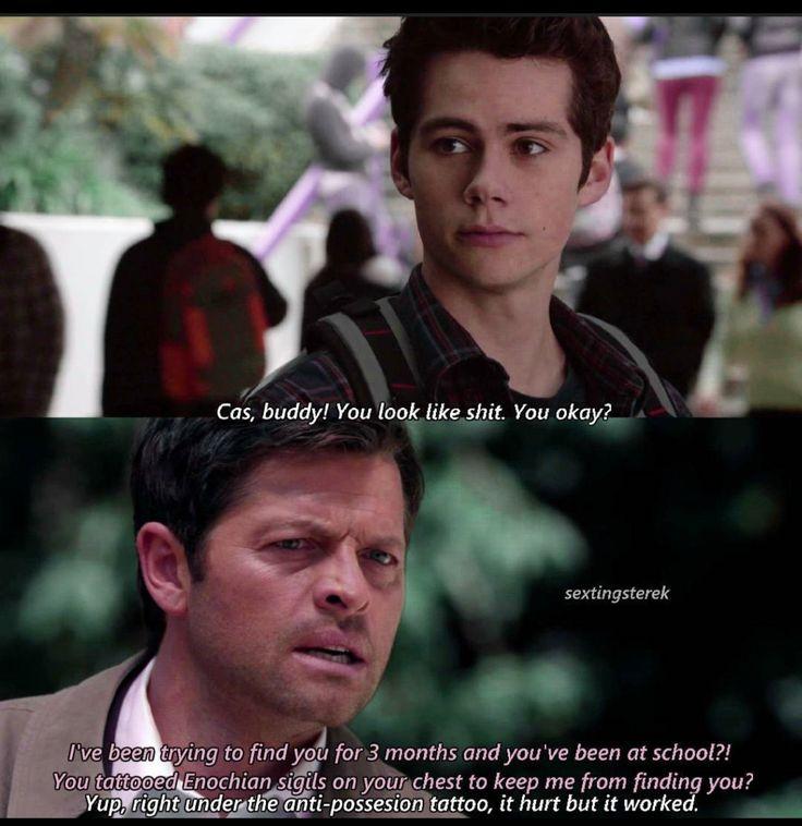 Stiles Winchester. Superwolf AU
