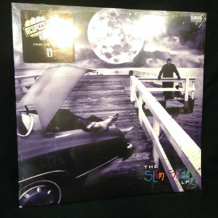 Eminem The Slim Shady Lp Double Vinyl Record Lp Sealed