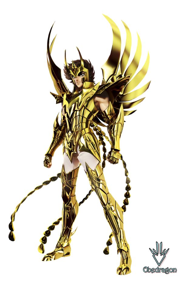 Ikki Fenix Armadura Divina - Render - Saint Seiya by Obedragon on DeviantArt