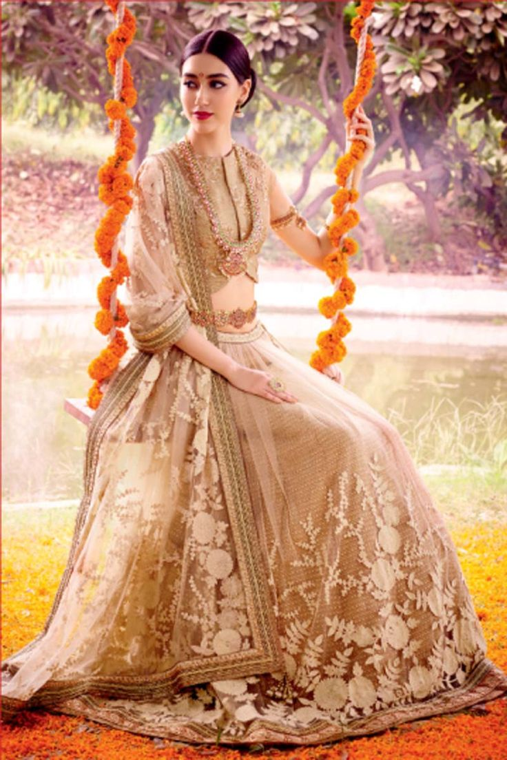 Buy Cream Net Designer Lehenga Online in low price at Variation. Huge collection of Designer Lehenga, Wedding Lehenga, Lehenga Choli, Ghaghra Choli, Bollywood Lehenga and Bridal Lehenga online for women at Variation. #designer #designerlehenga #lehenga #onlineshopping #latest #lowprice #variation  #weddinglehenga #lehengacholi #bollywoodlehenga #bridallehenga. To see more - https://www.variation.in/collections/lehenga