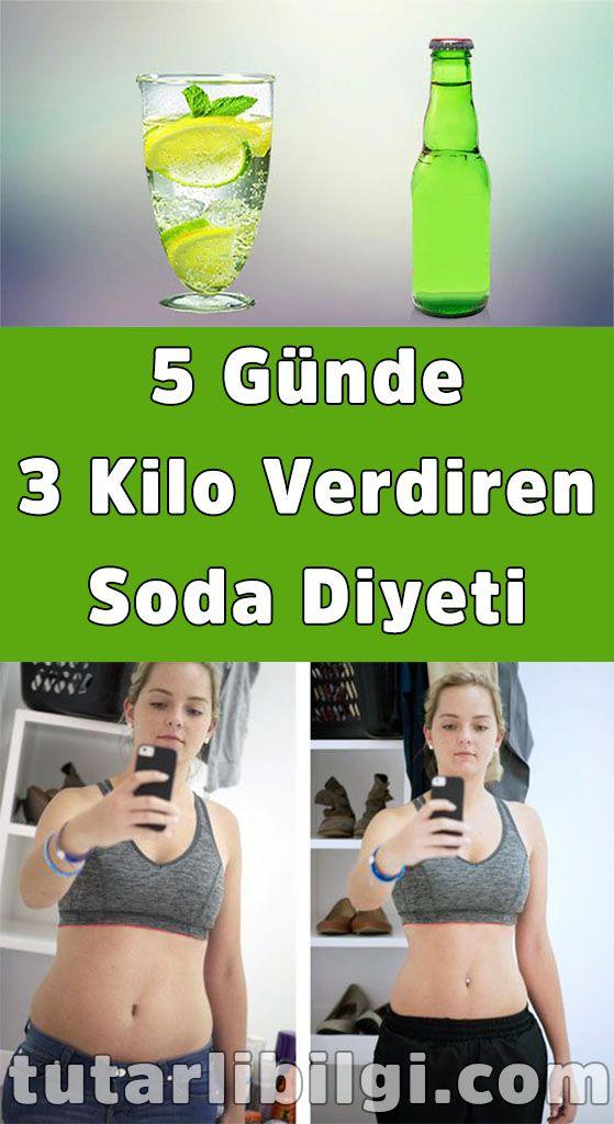 5 Günde 3 Kilo Verdiren Soda Diyeti