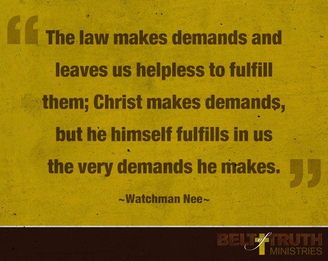 secrets to spiritual power watchman nee pdf