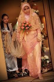muslim bridal gown malaysia - Google Search
