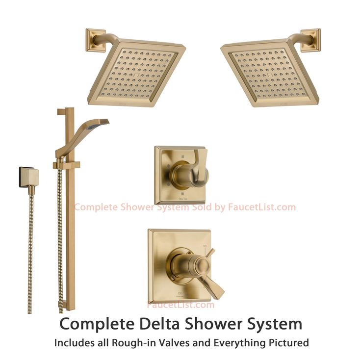 and amazon com tub faucet systems delta series monitor trim ara dp chrome shower