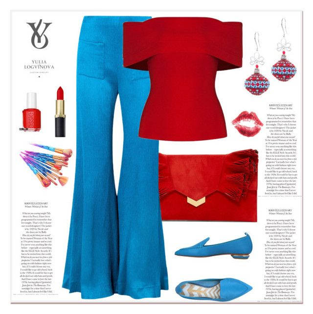 """""""Set 8"""" by top-secrets ❤ liked on Polyvore featuring Jimmy Choo, Hellessy, Nicholas Kirkwood, Essie, look and jewelry"""