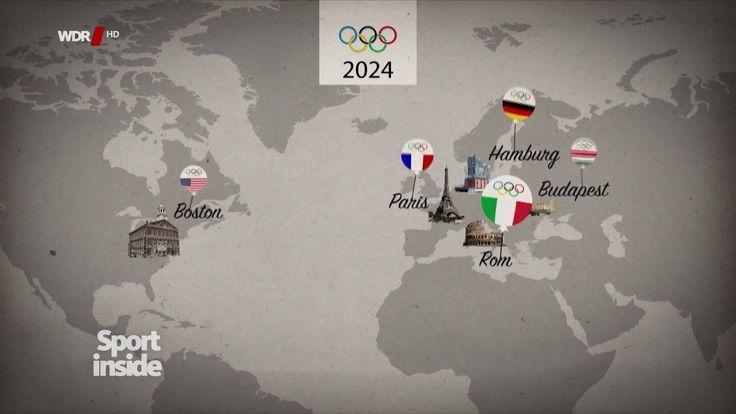 Keiner will Olympische Spiele: Nach dem Rückzug Budapests gibt es nur noch zwei Kandidaten für Olympia 2024 - Los Angeles und Paris. Auch in der französischen Hauptstadt wächst der Widerstand.  ▶▶ http://www1.wdr.de/fernsehen/sport-inside/olympia-ohne-bewerber-100.html