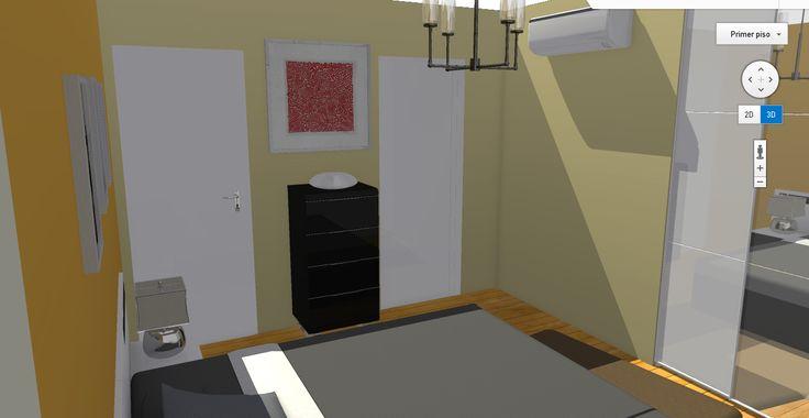 Vista de dormitorio principal I.