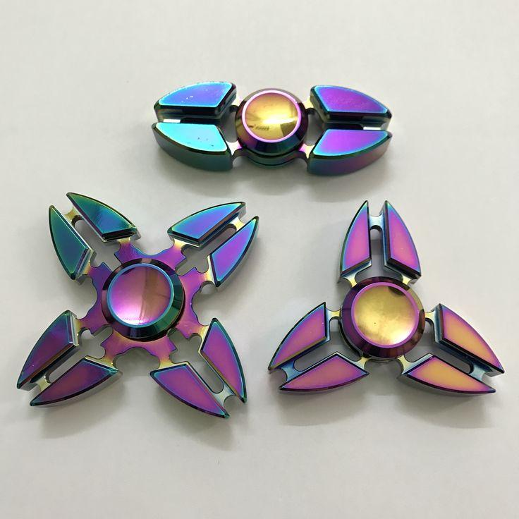 Metal Fidget Spinner Hand Tri Spinner Aluminium Alloy //Price: $17.06 & FREE Shipping //     spinnerpwt#
