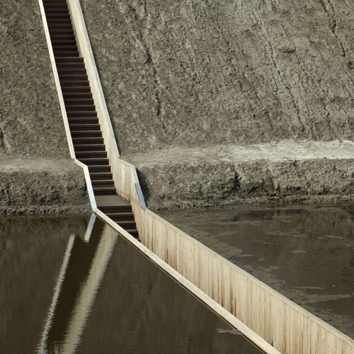 Moses bridge designed by RO&AD architects. Photo: RO&AD architects