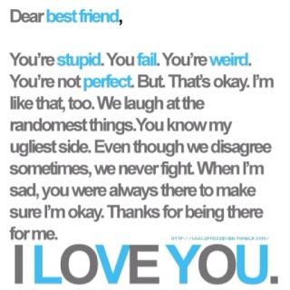 Dear bestfriend!!!