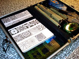 Free tangle pattern sheets for download