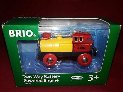 BRIO Two-Way Battery Powered Engine Train # 33594