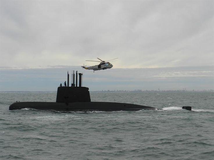 Investigan siete llamadas a base desde el submarino argentino desaparecido