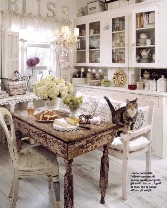 shabby love chic for the kitchen pinterest. Black Bedroom Furniture Sets. Home Design Ideas