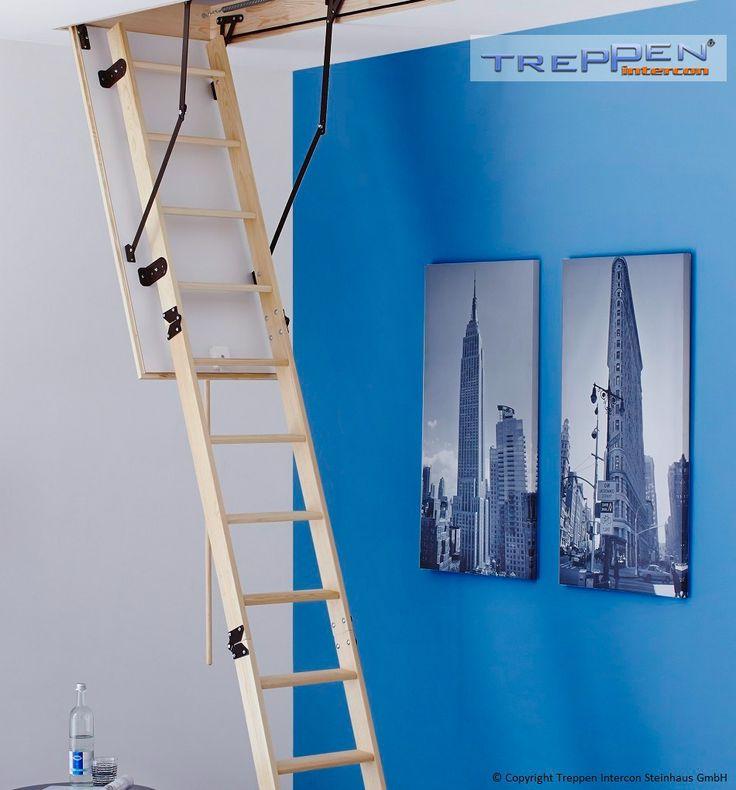 Dachbodentreppe Intercon Classic - preiswert und wärmegedämmt