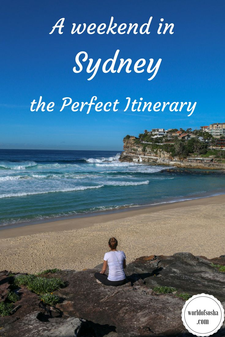 A weekend in Sydney: the perfect itinerary