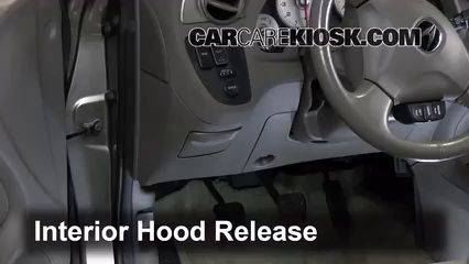 Open Hood How To 2002-2006 Acura RSX