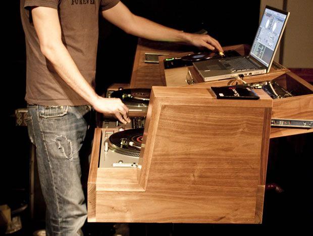 Dj Setup DJ Console For 529  ☆  Wood