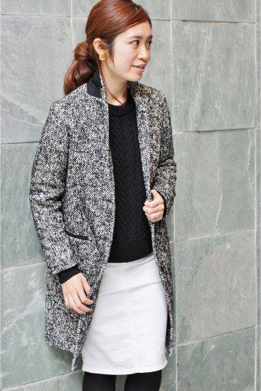 """IENAのIENA by Julie チェスターコートを通販するなら ファッション通販 スタイルクルーズ(Style Cruise) 。2014AW <br />IENA by Julie Cogan <br />madam a parisのデザイナーをつとめていたJulie Cogan氏とIENAのスペシャルコラボです <br /><br /> テーマは""""Petite Paris(プティ パリ)""""<br /> 小さなパリの日常で出会うエレガントでマニッシュなパリジェンヌを表現しています<br /><br /> スペシャルコラボアイテム<br /> デザインは、洗礼されたエレガントさがありながらも、抜け感のあるシルエットに気をつけました<br /><br /> こちらは継�%9"""