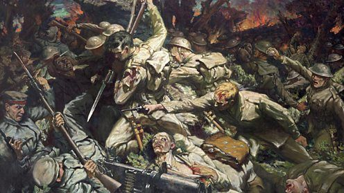 The Welsh at Mametz Wood. By Christopher Williams.