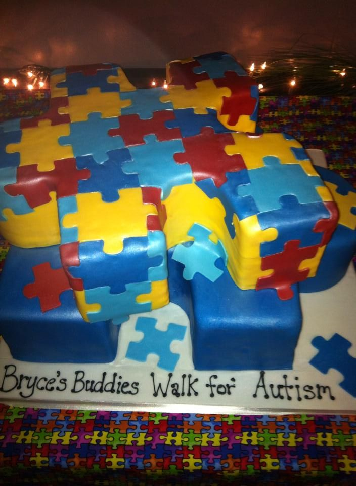 Cake Decorated By Girl With Autism : 17 Best images about Autism Cakes! on Pinterest Cookie ...