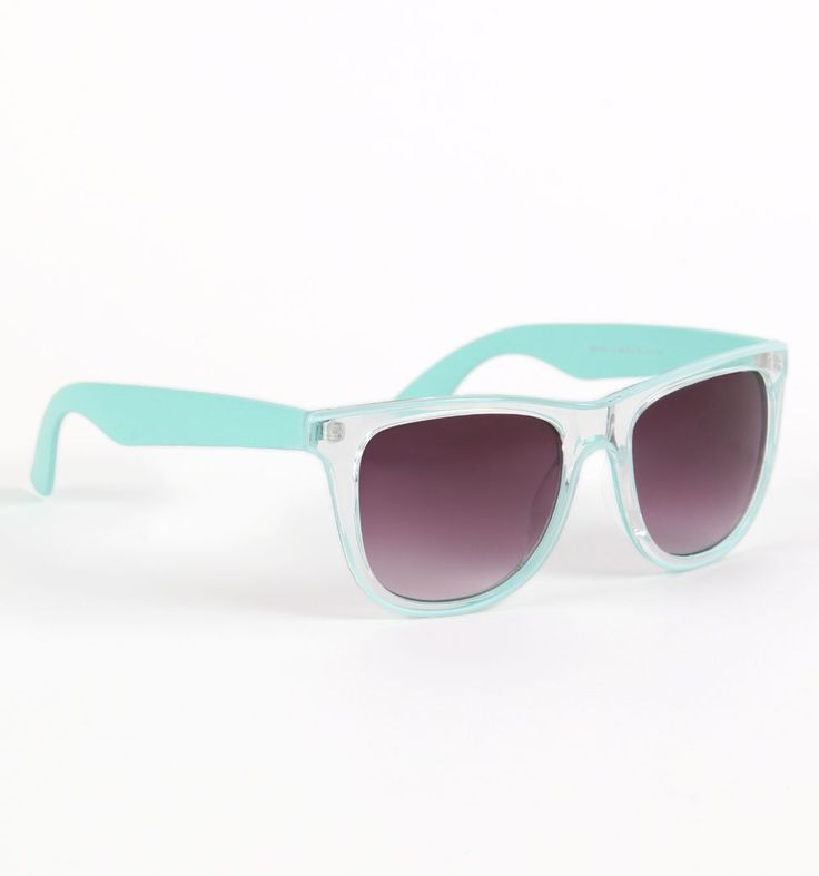 SALE!!! THESE ARE ON SALE FOR 4.99 ON POLYVORE!! ADORABLE MINT SUNGLASSES - AWESOME DEA
