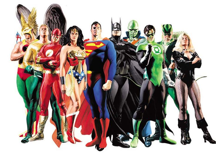 Alex Ross - Golden Age JLA