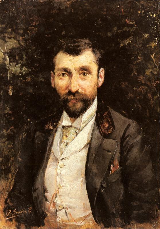 Portrait of a Gentleman - Joaquín Sorolla