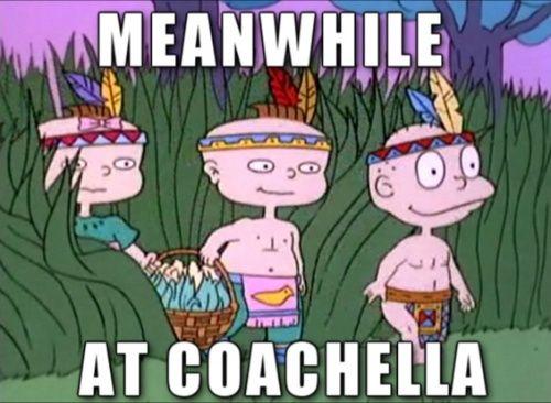 Hahaha Rugrats at Coachella