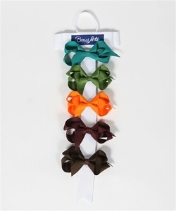 These fun bows can be added to any outfit for a pop of color!