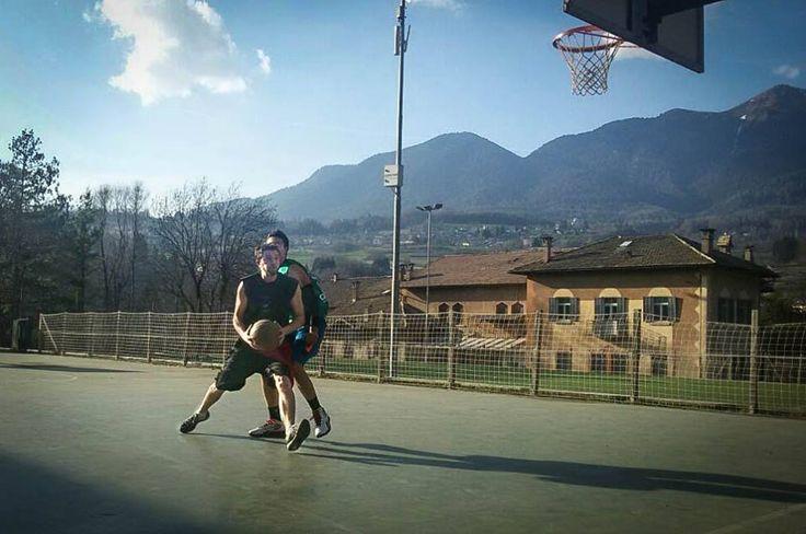 #Basket #Socks #Tester Luca Mich, Val di Fiemme Basket #calzeGM More info: http://www.calzegm.com/products/calze/basket/