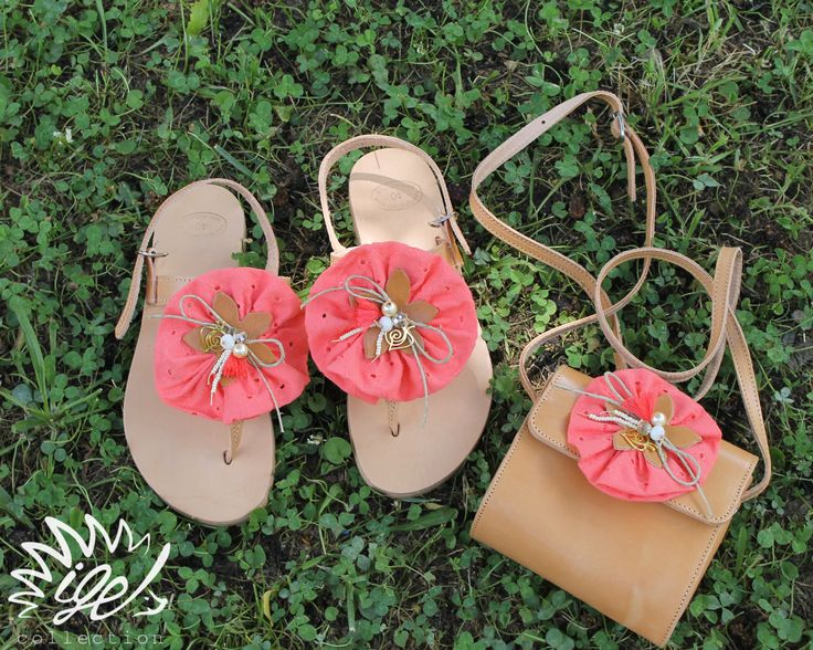 "Handmade Leather Sandals ""Lovely Visitor"""