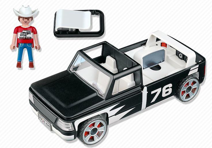 Click & Go Pick Up Truck - 4340 - PLAYMOBIL® United Kingdom